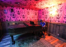 Meow Wolf piano