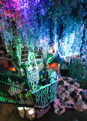 Meow Wolf treehouse