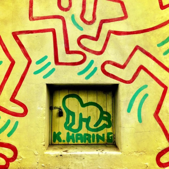 Keith Haring mural Melbourne Australia