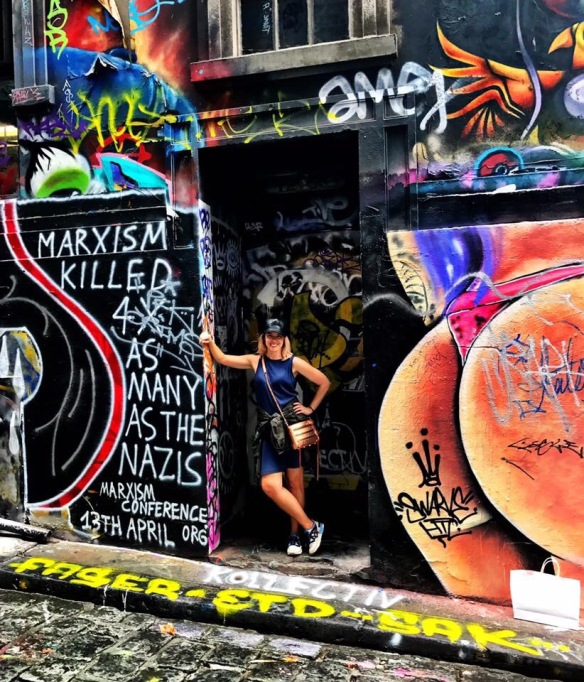 Hosier Lane Street Art in Melbourne Australia