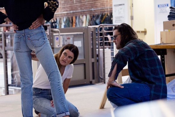 Vintage Levi's 501 Jeans are popular in New York City