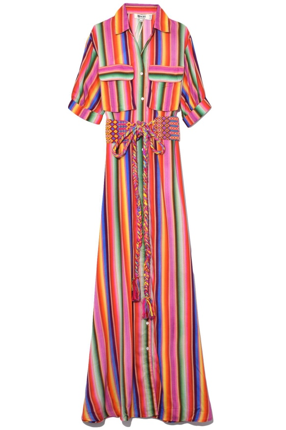 Rainbow dress from Mochi