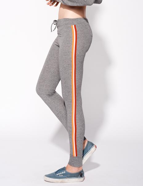 Sundry striped yoga leggings