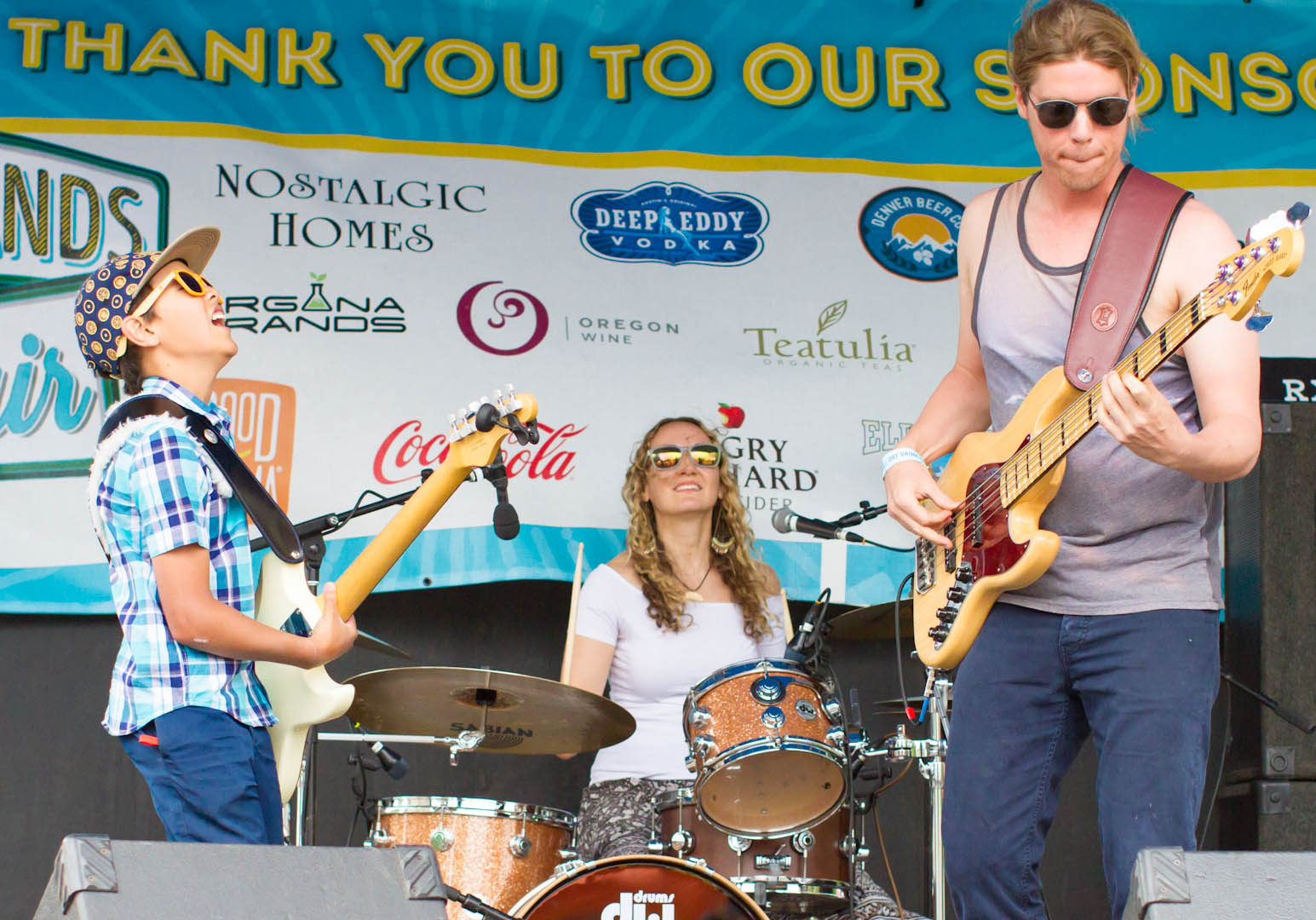 The Dylan Miles Experience rocks the Highlands Street Fair in Denver